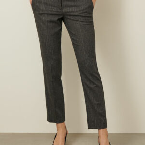 spodnie szare cygaretki marella