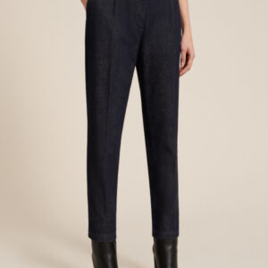 jeansy z wysokim stanem efekt gorsetu luisa spagnoli